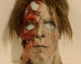 michael myers replica mask rob zombie halloween 2 the mute - Rob Zombie Halloween Mask For Sale