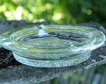 Ashtray Vintage glass Ashtray Cigarette Ash tray mid century dresser dish Ashtray Collectibles  Retro Ashtray Antique Ashtray