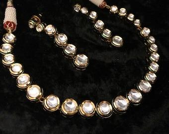 Highest Quality Vilandi - Single Liner Kundan Necklace