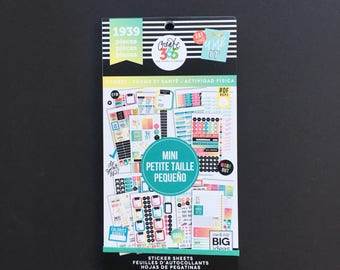 The Happy Planner MINI Value Sticker Pack - Fitness