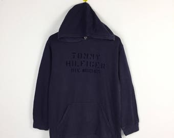 Vintage Tommy Hilfiger spell out hoodie / tommy hilfiger sweatshirt / winter wear / sweater / tommy jeans /