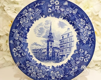Wedgwood old south church plate.