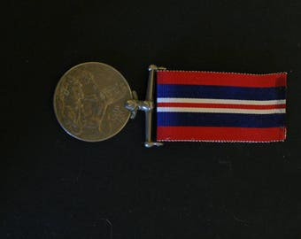 WWll Great Britain Service Medal 1939-45.