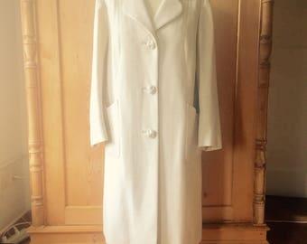 cream 1930s-50s coat