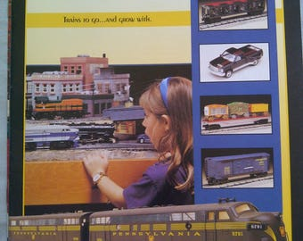 K-Line Electric Train Catalog 1996
