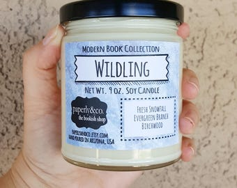 LARGE Wildling Net Wt. 9 oz. Soy Candle