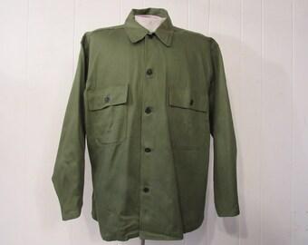 Vintage jacket, military jacket, vintage workwear, vintage clothing, XL, NOS