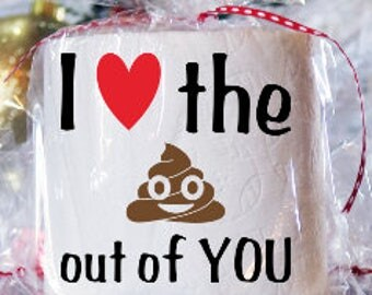 Valentine's Gift, Toilet Paper Gag Gift, Adult Gift, Funny Gift,