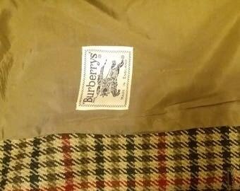 Burberrys LONDON/Burberry/Jacket/women/blazer/tartan/winter/Made in England/jacket/blouson/plaid/plaid
