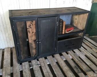 Industrial furniture Maraina tv Cabinet sideboard