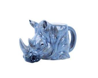 Rhinoceros 3D Mug
