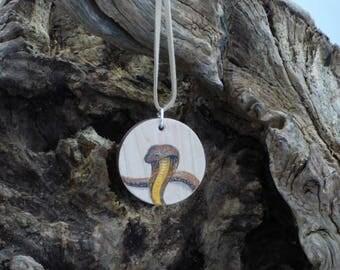 Totem Animal Pendant Snake Cobra
