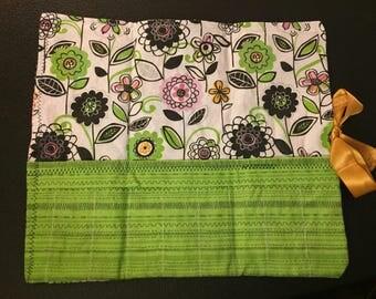 Floral Checkboard
