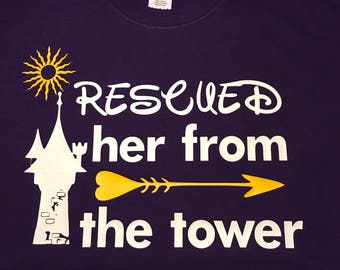 Rescued Her From the Tower Shirt