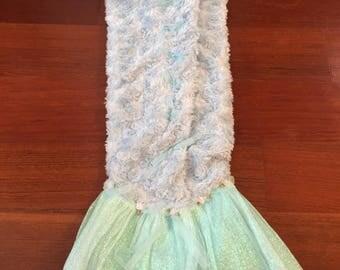 Baby Mermaid Swaddle Blanket