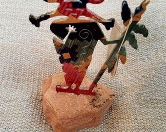 Lazart Kokopelli Metal Art Sculpture, Kokopelli Art, Native American Art