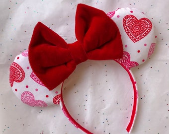 Valentine's Day Heart Ears