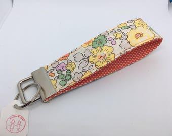 Handmade Fabric Keyring