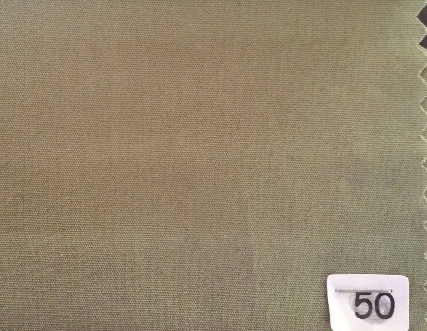 popeline de coton unie japonaise kaki nr50. Black Bedroom Furniture Sets. Home Design Ideas