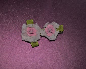 Recycled earring bows