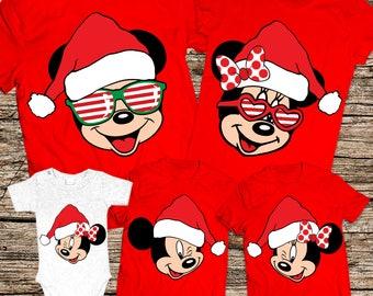 Christmas family shirts, Disney Christmas family shirts, Disney Christmas shirts, Matching Disney Family Christmas shirts, Christmas shirts