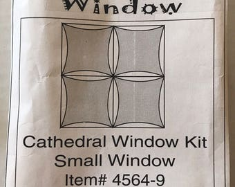 Cathedral Window kit I Can do This