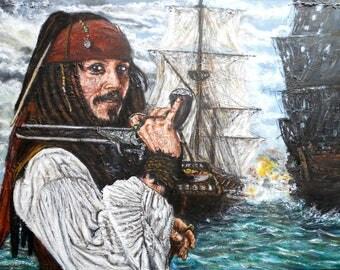 Jack sparrow pirates of the caribbean johny depp