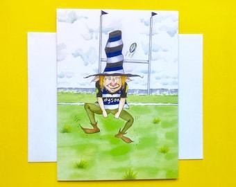 Bath Rugby Elf