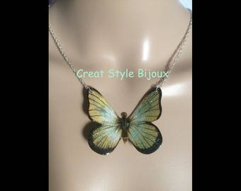 Beautiful Butterfly pendant necklace