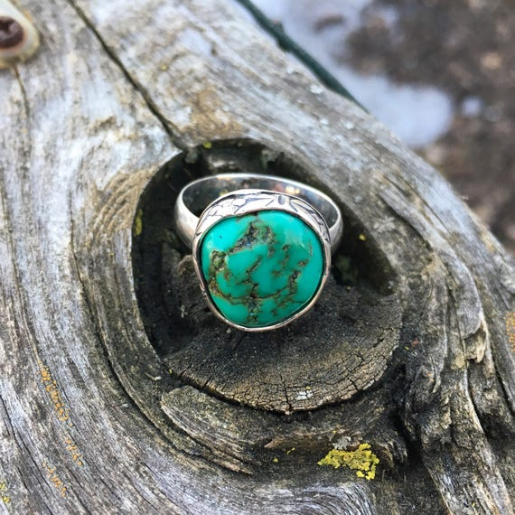 Flora of the Forest Turquoise Ring