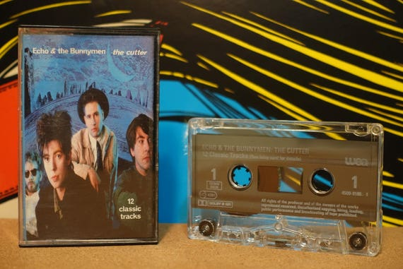 The Cutter by Echo and The Bunnymen Vintage Cassette Tape