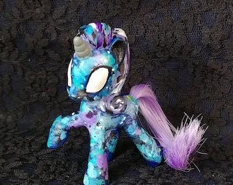 Custom Doll Repainted My Little Pony MLP Galaxy