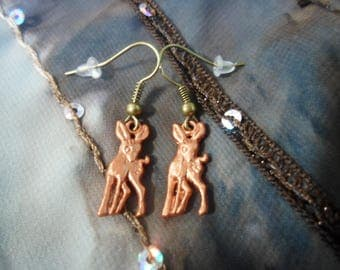 Earrings and her little fawns