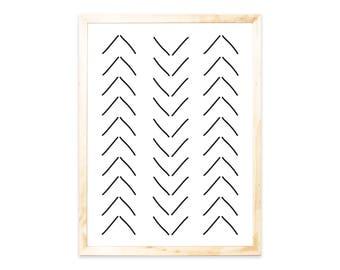 Poster, print, geometric, black