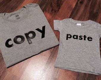 Copy/Paste Set Adult and Child