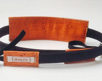 camera strap, vegan, - small city Tiger