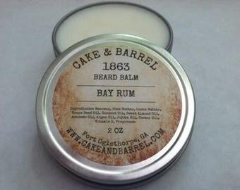 1863 Bay Rum Beard Balm