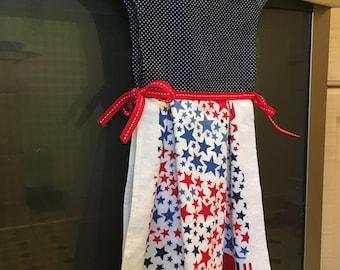 Stars and Stripes towel dress
