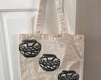 Pottery tote bag!