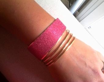 Ruby Cuff Bracelet