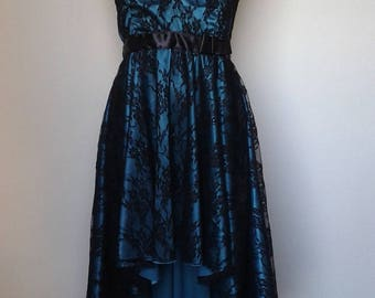 Dress satin Romance and lace