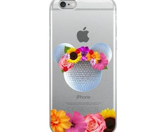 Epcot Flower and Garden iPhone Case