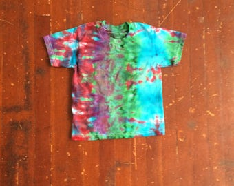 Red, Green, and Blue Psychedelic Print Child S
