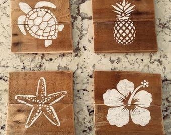 Driftwood Effect Beach Art