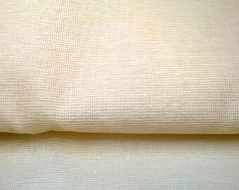 TARLATAN 100% cotton color ivory, ecru width 130cm