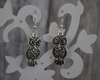 """So nice!"" Silver dangle earrings"