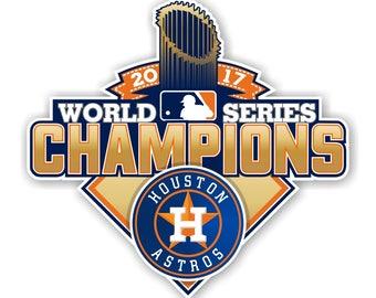 Houston Astros 2017 World Series Champions Decal
