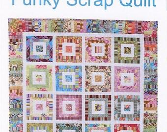 Funky Scrap Quilt Pattern