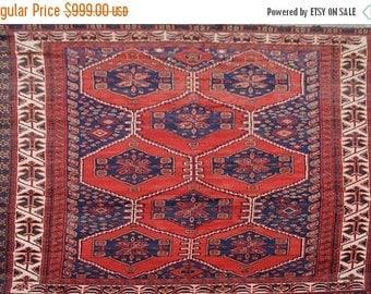 35% OFF Final sale Vintage Afghan tribal baluchi rug 100 Percent wool