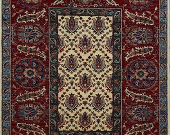 35% OFF Final sale 150 x 200 cm Stunning hand knotted mamluk rug 100 Percent best wool